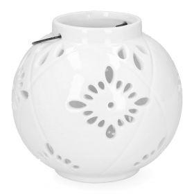 TOLL Lampion biały 15x13 cm