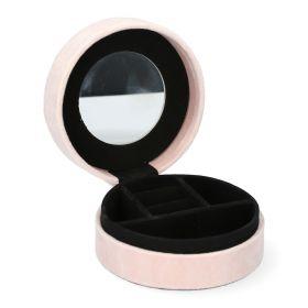 LOVA Szkatułka mini różowa 10x4 cm