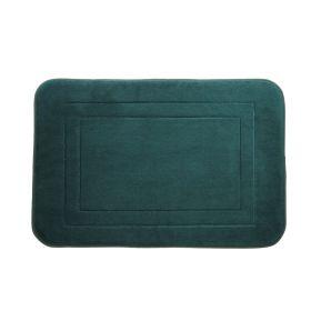 EDDIE Dywanik łazienkowy zielony 40x60 cm