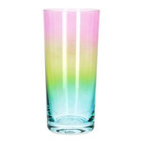 RAINBOW Szklanka wielokolorowa wysoka 0,4 l