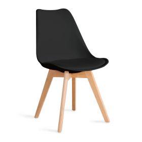 FISCO Krzesło czarne 48x56x82 cm