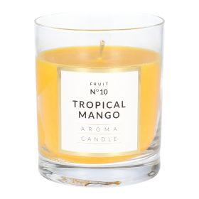 SIMANI Świeca Tropical Mango 8x9 cm