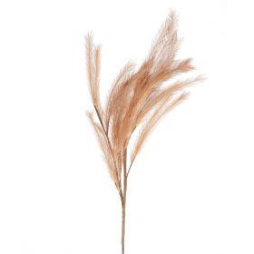 CANNE Kwiat sztuczny brązowy 105 cm