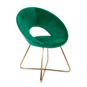JARED Krzesło szmaragdowe 73x47x84 cm