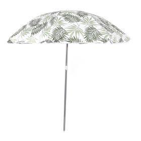 BEACH Parasol plażowy zielony 100x176 cm
