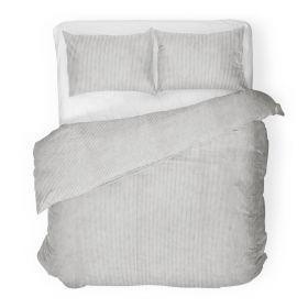 DANECO Komplet pościeli bawełnianej w paski 200x220 cm