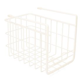 DUNCAN Koszyk półkowy wąski biały 24,5x16,5 cm