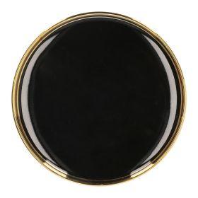 SINNES Talerz czarny 15 cm