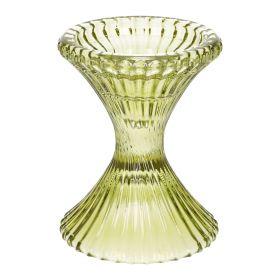 ASJO Świecznik zielony 10x12 cm