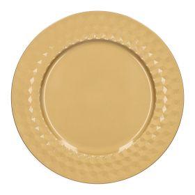 TREG Taca ozdobna złota 33 cm