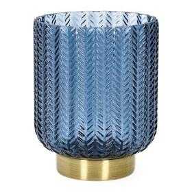 LALIN Lampion granatowy 11x13 cm