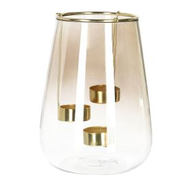GALIA Lampion szklany 15x21 cm