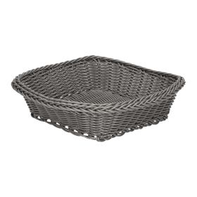 MAURI Koszyk kwadratowy szary 22x22 cm