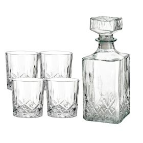 JAQIN Karafka ze szklankami 5 szt.