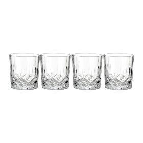 JAQIN Zestaw szklanek, 4 szt. 0,2 l