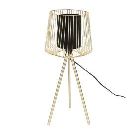 ELBA Lampa stołowa złota 24x57 cm