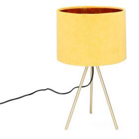 LOVA Lampa stołowa musztardowa 24x42 cm