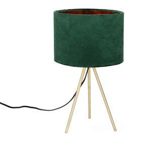 LOVA Lampa stołowa zielona 24x42 cm