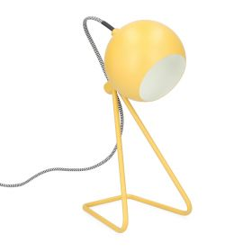 DOLLY Lampa musztardowa 17x12x35 cm