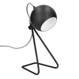 DOLLY Lampa czarna 17x12x35 cm