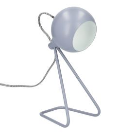 DOLLY Lampa szara 17x12x35 cm