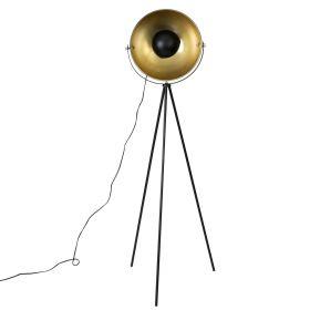 SENA Lampa podłogowa czarna 62x62x160 cm