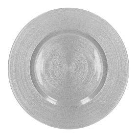 BLITS Talerz srebrny 34 cm