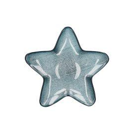 BLITS Talerz gwiazda granatowy S 30 cm