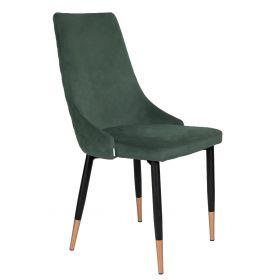 LOGAN Krzesło zielone 44x44x92 cm