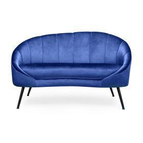 NEVOY Sofa szafirowa 138x75x88 cm