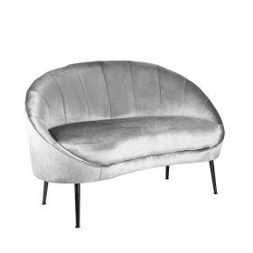 NEVOY Sofa szara 138x75x88 cm