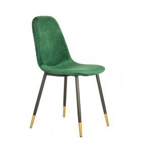 NOIR MIEL Krzesło zielone 52x43x87 cm