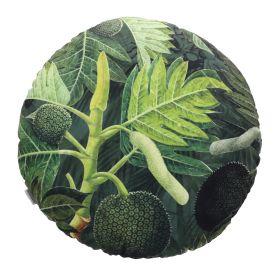 ROSSI Poduszka we wzór zielona 45 cm
