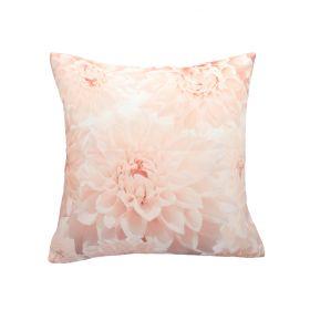 DALIA Poszewka dekoracyjna różowa 45x45 cm