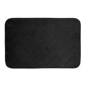 KUTU Dywanik czarny 40x60 cm