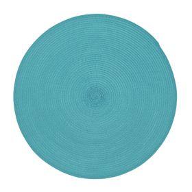 PINTO Podkładka do jadalni okrągła turkusowa 38 cm