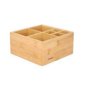 VATI Organizer bambusowy naturalny 15x15 cm