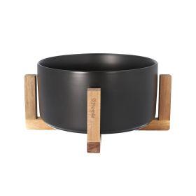NUUMO Misa do sałat ceramiczna czarna 20 cm