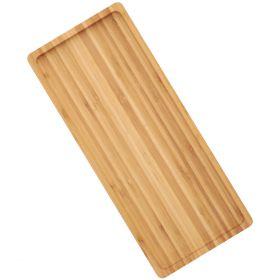 BAMBOU Taca bambusowa do serwowania 40x17 cm