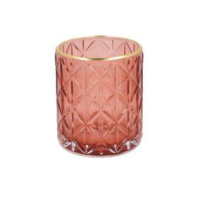 JOSE Lampion różowy 8x10 cm