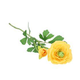 POPPY Kwiat sztuczny żółty 56 cm