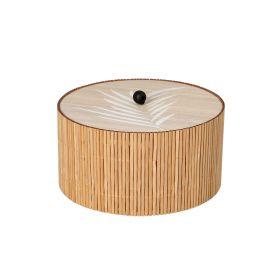 LOMA Szkatułka bambusowa 15x8 cm