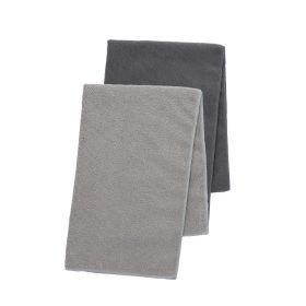 CLEAN Zestaw ścierek kuchennych szarych 2*40x60 cm