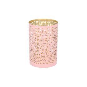 MARLA Lampion różowy 8x12 cm