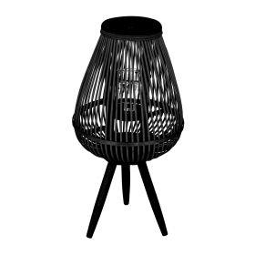 SHILLOH Lampion ogrodowy czarny 29x61 cm