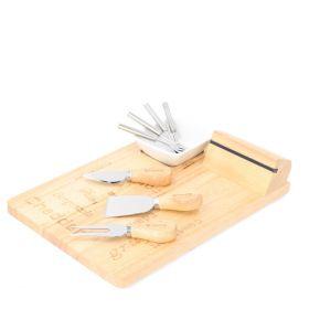 RUBBY Zestaw do serwowania serów, 9 elementów 23x30 cm