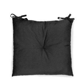 SILLA Poduszka na krzesło czarna 40x40 cm