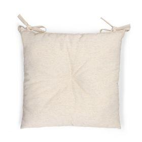SILLA Poduszka na krzesło beżowa 40x40 cm