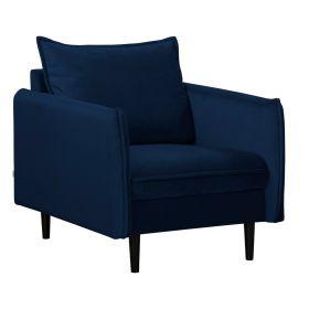 RUGG Fotel granatowy 99x86x91 cm