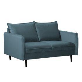 RUGG Sofa turkusowa 149x86x91 cm